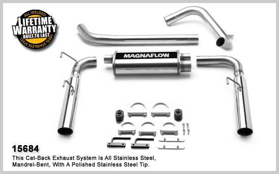 Magnaflow 15684: Exhaust System for Camaro 1998-2002 V8