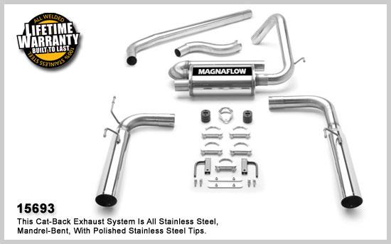 Magnaflow 15693: Exhaust System for Firebird V6 1998-2002
