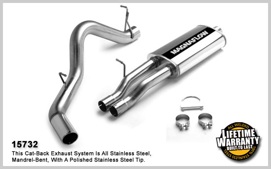 Magnaflow 15732: Exhaust System for GM SILVERADO/SIERRA
