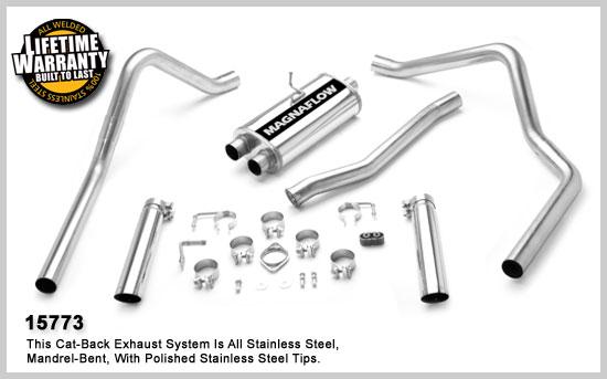 Magnaflow 15773: Exhaust System for FORD RANGER SUPER 1998
