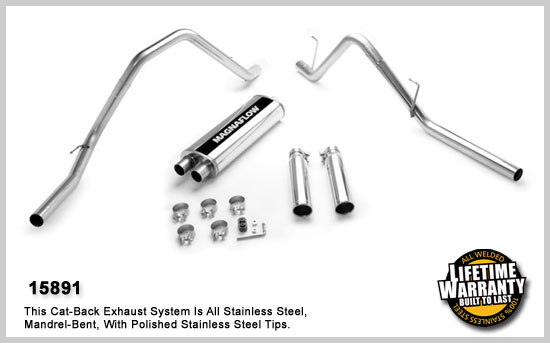 Magnaflow 15891: Exhaust System for DODGE RAM 1500 TRUCK
