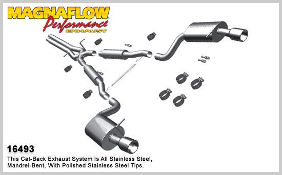 Magnaflow 16493: Exhaust System for 1997-04 Audi A6 2.7L