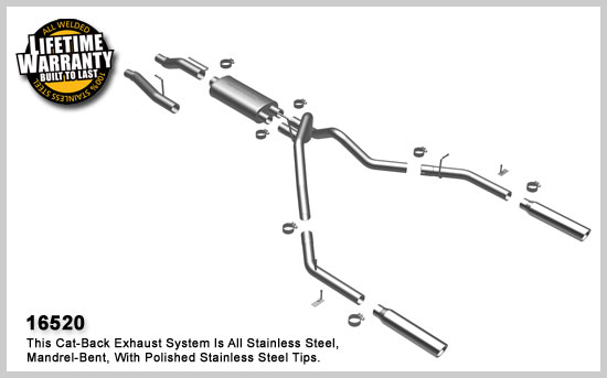 Magnaflow 16520: Exhaust System for FORD F-150 2004-08