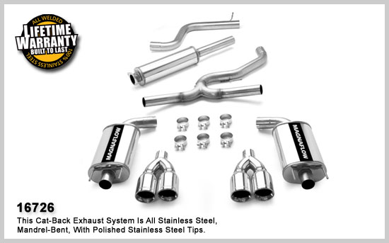 Magnaflow 16726: Exhaust System for PONTIAC GRAND PRIX GXP