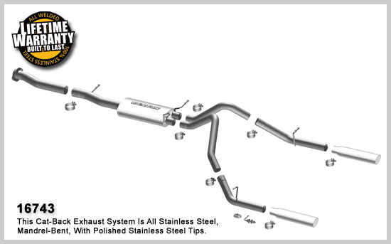 Magnaflow 16743: Exhaust System for GM SILVERADO/SIERRA
