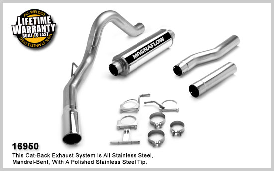 Magnaflow 16950: Exhaust System for FORD 7.3L POWERSTROKE
