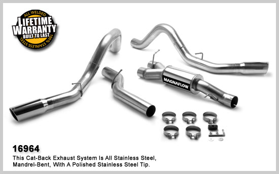 Magnaflow 16964: Exhaust System for GM DURAMAX DIESEL 6.6L