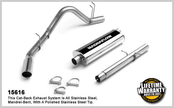 Magnaflow 15616: Exhaust System for DODGE RAM 2500 TRUCK