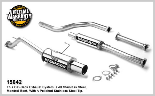 Magnaflow 15642: Exhaust System for HONDA CIVIC DX 1996-2000