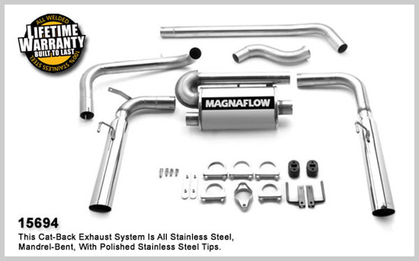 Magnaflow 15694: Exhaust System for Camaro V6 1993-1997 V6