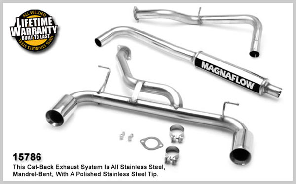 Magnaflow 15786: Exhaust System for DODGE NEON SRT-4 2003-2005