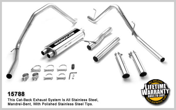 Magnaflow 15788: Exhaust System for DODGE RAM 1500 TRUCK 2003