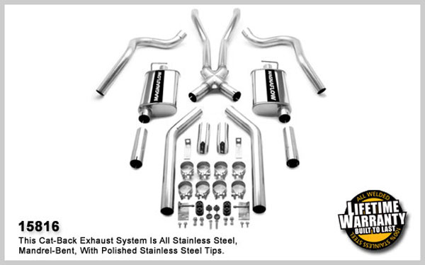 Magnaflow 15816: Exhaust System for 67-70 Mustang 2.50