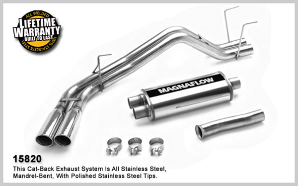 Magnaflow 15820: Exhaust System for TOYOTA TUNDRA 2000-2006