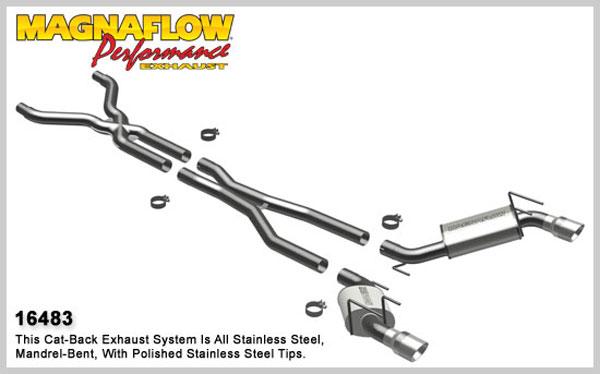 Magnaflow 16483: Camaro 2010-13 V8 Full 3 inch Exhaust