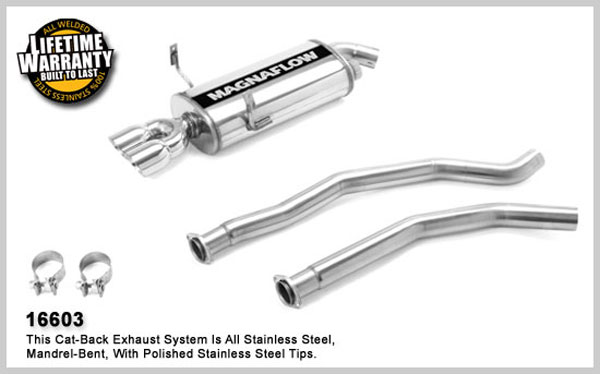 Magnaflow 16603: Exhaust System for BMW 325Ci 2001-2005