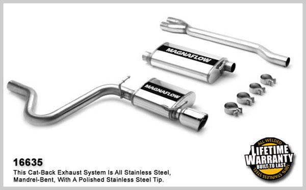 Magnaflow 16635: Exhaust System for DODGE CHARGER / MAGNUM