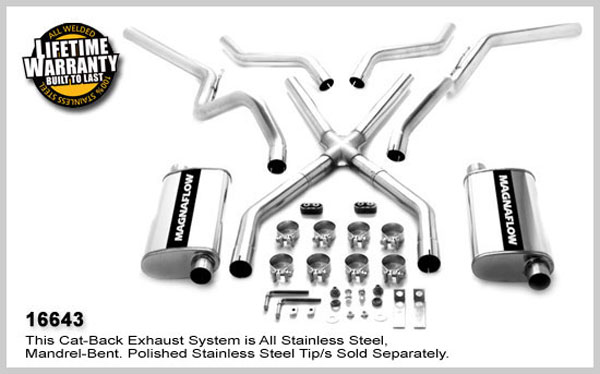Magnaflow 16643: Exhaust System for GM Chevy C10 PICKUP