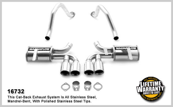 Magnaflow 16732: Exhaust System for CORVETTE 1997-2004
