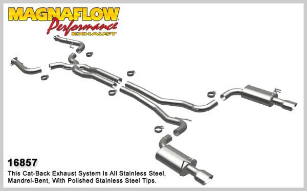 Magnaflow 16857: Exhaust System for 2008 Pontiac G8 GT 6