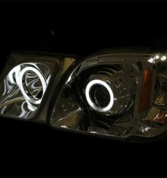 anzo 111170 anzo usa lexus lx470 projector headlights w halo black ccfl  [ 1500 x 1125 Pixel ]