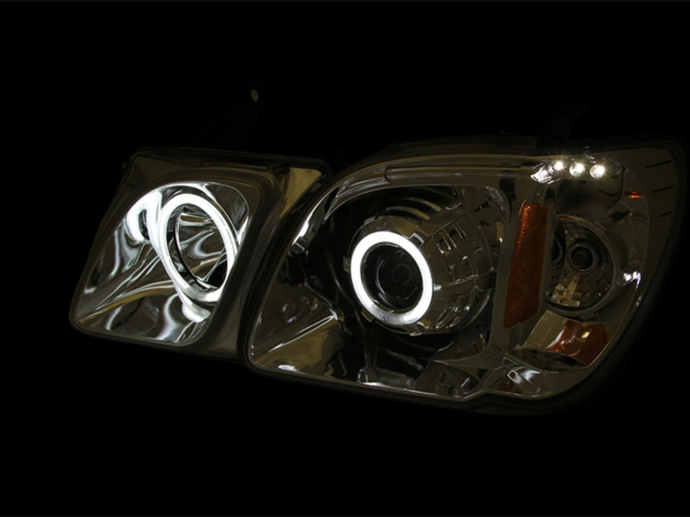 medium resolution of anzo 111170 anzo usa lexus lx470 projector headlights w halo black ccfl