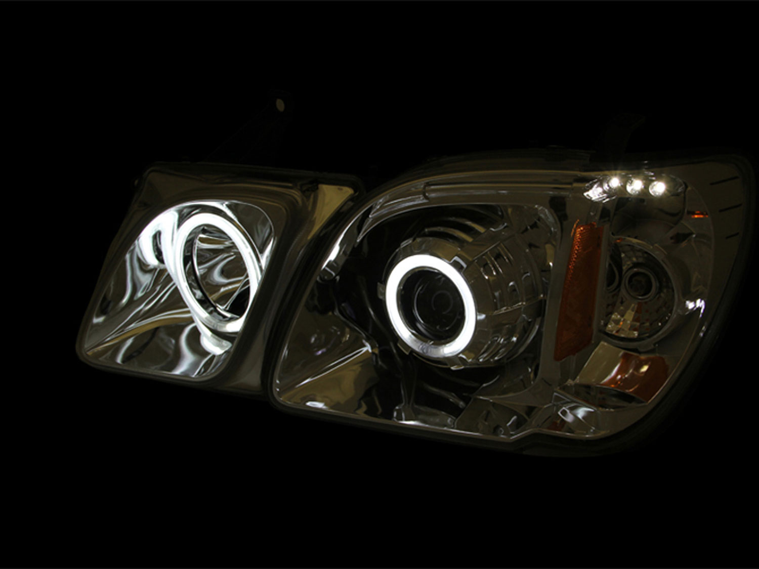 hight resolution of anzo 111170 anzo usa lexus lx470 projector headlights w halo black ccfl