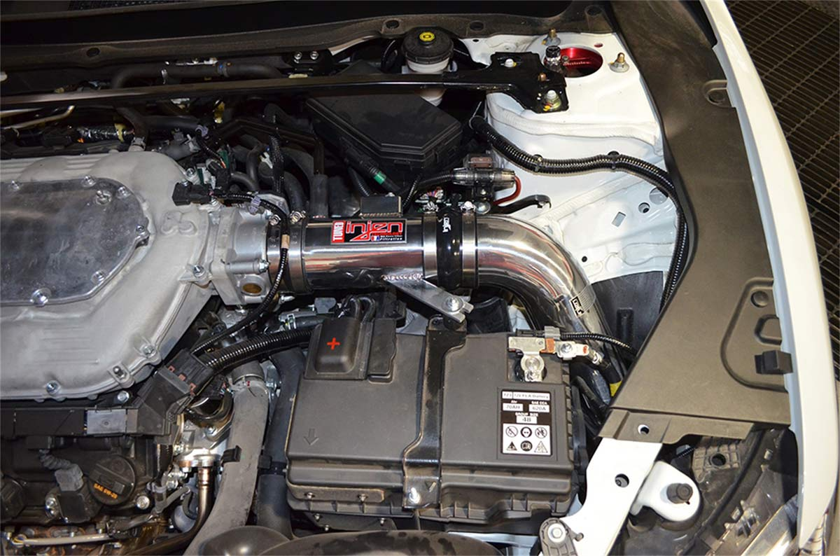 hight resolution of injen sp1480p cold air intake acura tsx 3 5l v6 dyno tuned cold air