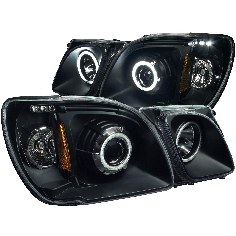 hight resolution of anzo 111170 anzo usa lexus lx470 projector headlights w halo lexus lx470 headlight wiring harness