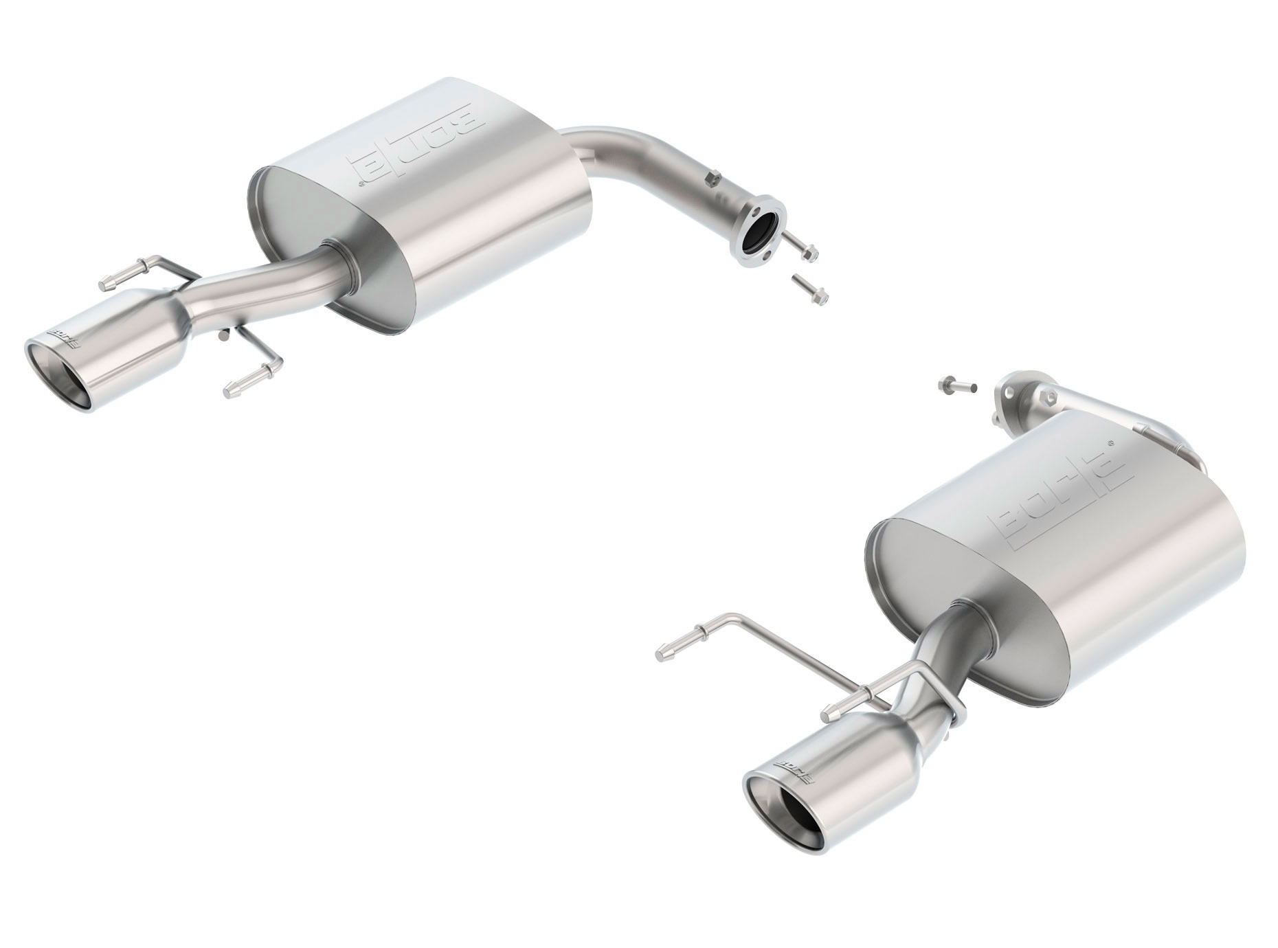 borla 11916 toyota camry exhaust system lm performance