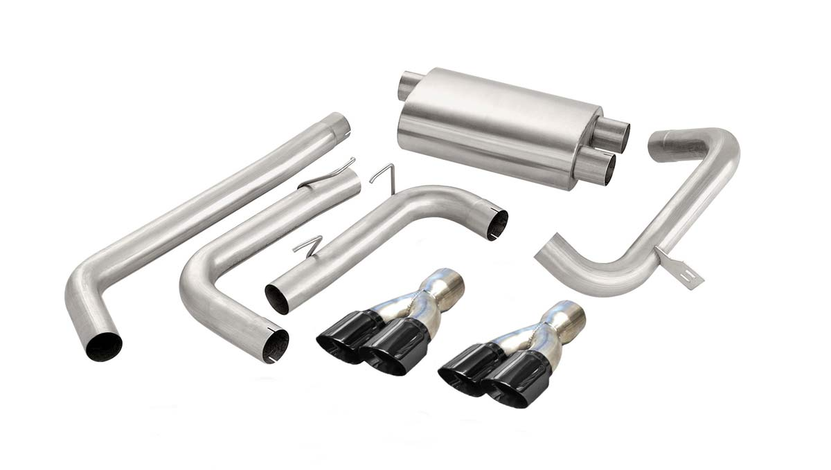 Corsa Performance (14144BLK) CORSA Camaro Cat-Back Exhaust