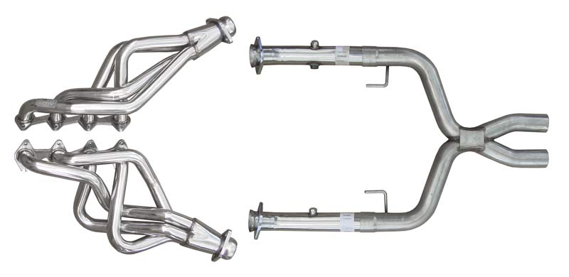 Pypes Exhaust HDR55SK: Pypes Mustang Long Tube headers