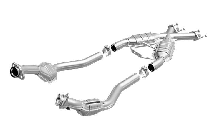 Magnaflow 93333: 94-95 Mustang 5.0L, GT, Cobra Tru-X Pipe