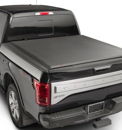 weathertech 8rc2326 roll up truck bed cover chevrolet silverado 3500 1500 black 14 on new  [ 1200 x 900 Pixel ]
