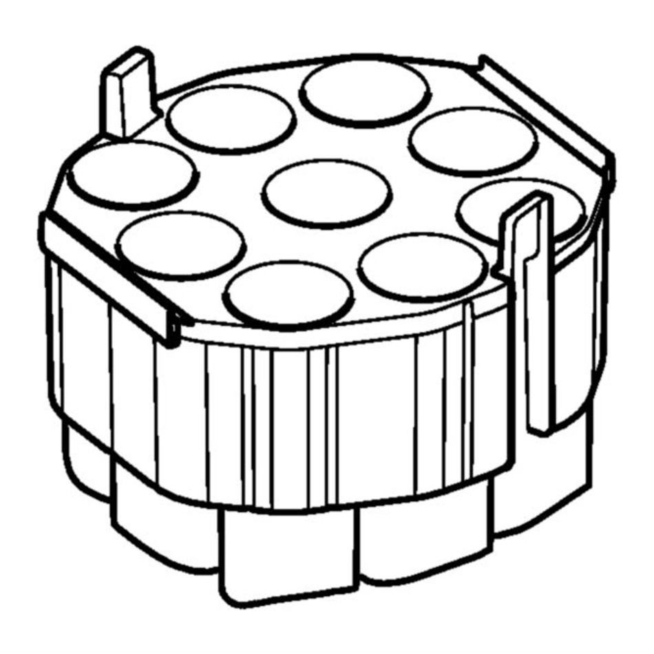 Adapter for 50 mL conical tubes and plates, for S