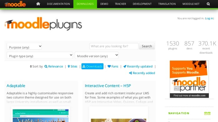 1,500 Creations At The Moodle Plugin Directory: Underserved Success