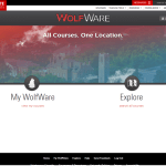NCSU Moodle (North Carolina State University 'WolfWare')