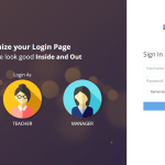 customize your moodle login page
