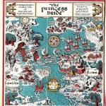 """""""Map of The Princess Bride by William Goldman"""""""
