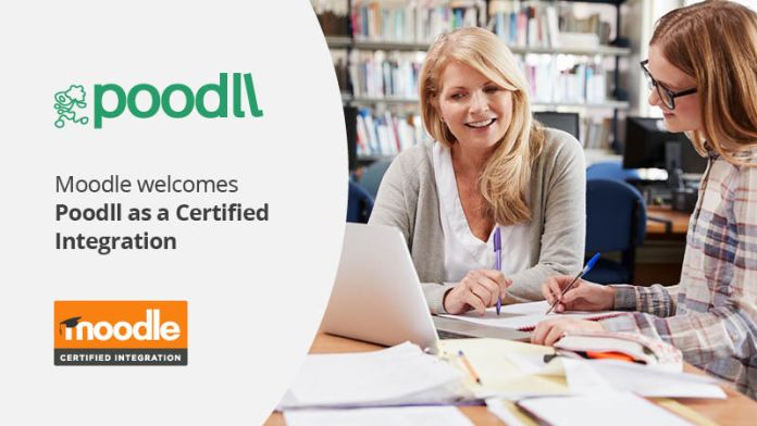 Poodll Becomes Moodle Certified Integration, Launches New Audio, Video, Language, AI Features & Product Lineup
