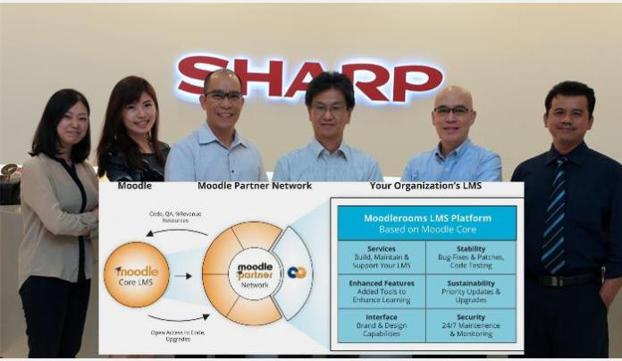 Ambitious Investment By Sharp In Human Talent Through Moodlerooms