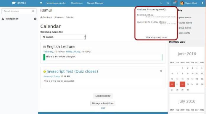 Demo RemUI, Another Responsive Theme For Moodle By Edwiser