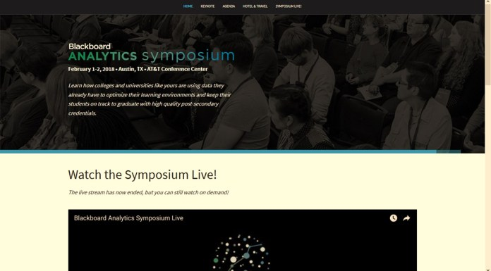 Blackboard Holds Analytics Symposium, The Bullseye On LMS Data | Con Simposio de Analítica, Blackboard Busca Apoderarse de los LMS de Datos