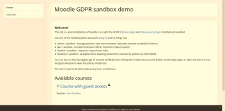 Privacy Conscious, GDPR-Ready Moodle 3.5 Is Coming Up. QA Help Needed