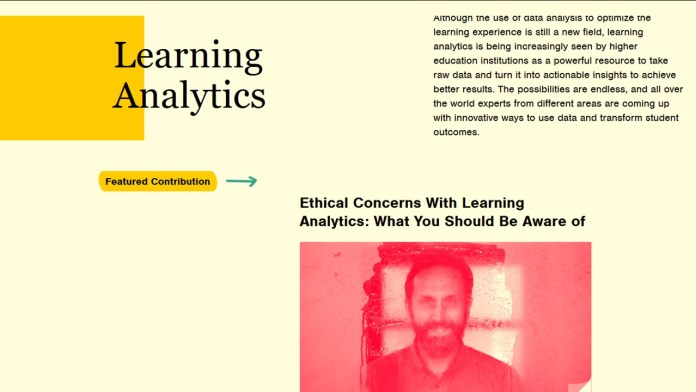 Check Out Blackboard's Learning Analytics Special