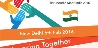 First Moodle Moot India 2016