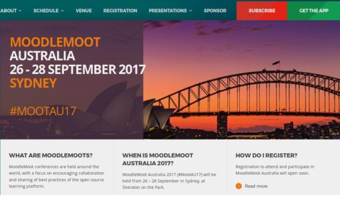 Moodle Plays Home. MoodleMoot Australia 2017 Date Confirmed