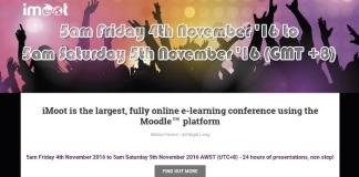 Last Call To Join Moodle iMoot Mini Moot 2016
