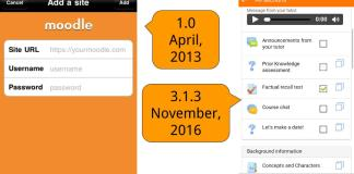 Offline Messaging, Annotations and Assignments: Welcome To Moodle Mobile 3.1.3