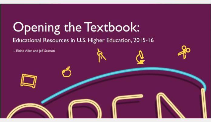 Open Educational Resources In The Running For The Hearts & Minds Of American Faculty But Challenges Ahead, According To Study